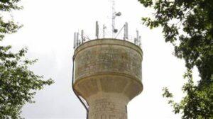 chateau deau antennes relais