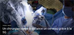 chirurgie connectee