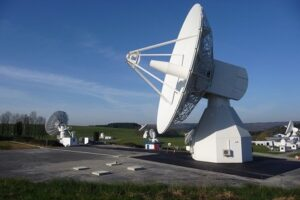 station terrestre satellite ESA